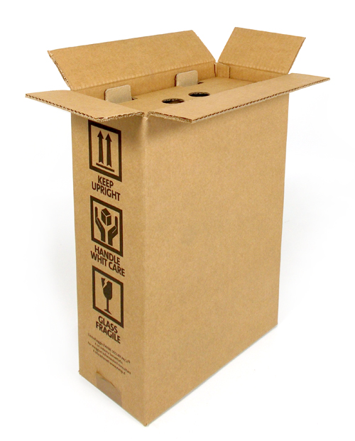 BOX 2 bottiglie SPEDIZIONE SICURA