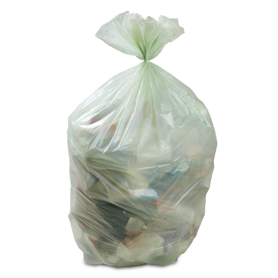 Sacchetti Biodegradabili Umido 60+24x26 Conf. 20 pz