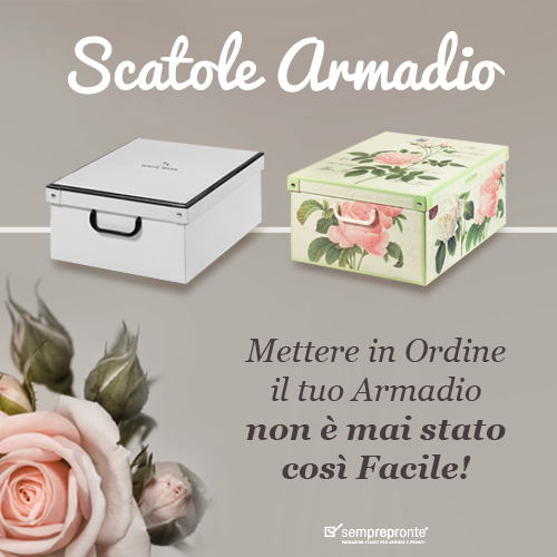 Scatole Armadio