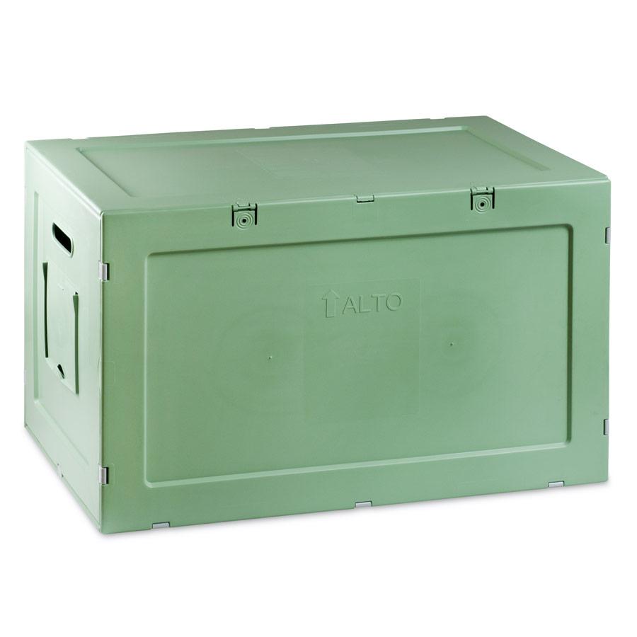Contenitore in Plastica 39,6x61,6x38,6 Verde Salvia