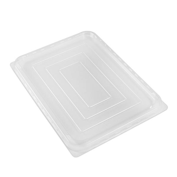 Coperchio ad Incastro Plastica Trasparente Per Vasc. GR/5L Conf. 70 pz