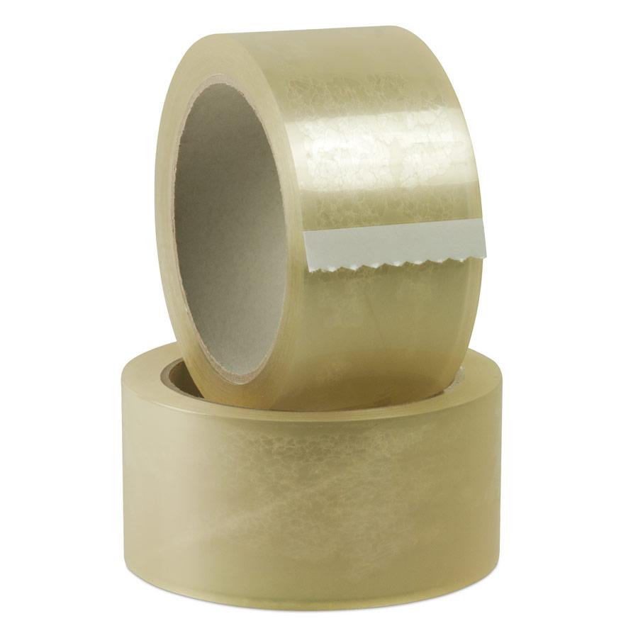 Nastro adesivo Polipropilene (PPL) silenzioso TRASPARENTE 28 micro, mt 66 x 50mm