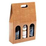 Scatole per Bottiglie da 3 posti, con Maniglia cm. 26.5x8.5x39.5 h ART. 206 - S3L