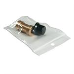 Bustina Plastica con chiusura a Pressione 6x8+2 Conf. 100pz