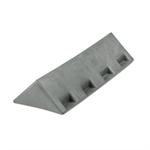 Listello Angolare in Plastica 26,5x9,5x5 Rif. Sicury 100