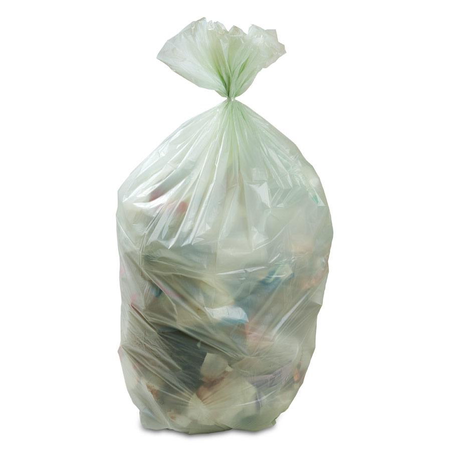 Sacchi Biodegradabili Umido 110+30x40 Conf. 25 pz
