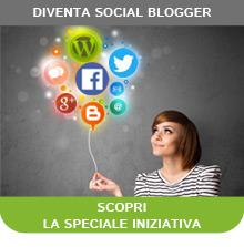 Sei un blogger?